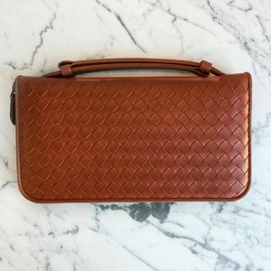 Bottega Veneta Handle Wallet/Document Case